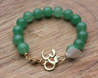 OM Gemstone Bracelet