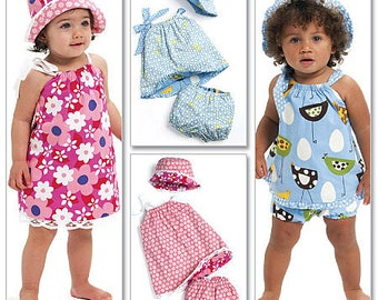 Sewing Pattern-McCall's 5791-Baby Dress and Panty Diaper Covers-Size Small to large Out of Print