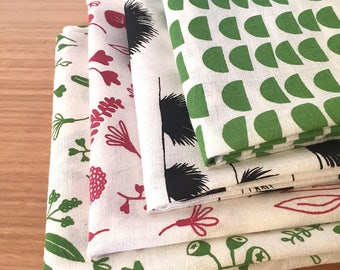 Pair of extra large kitchen towels // Organic tea towels // Flour sack towels