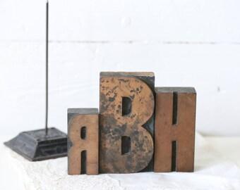 vintage letter press old letter press