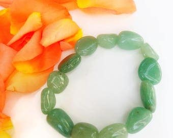 Green Aventurine Gemmy Crystal Bracelet Men Women