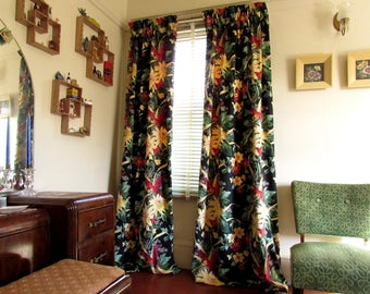 1940s etsy for 1940s window treatments