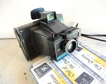 Vintage Polaroid ColorPack II Land Camera Black, Retro Camera