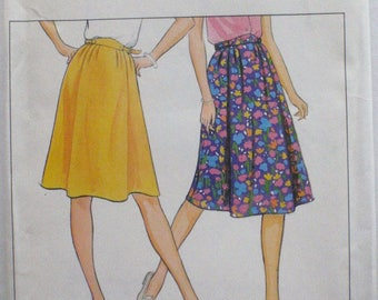 Butterick 4288 Sewing Pattern - Size 18 Flared Skirt With Front Pleats - Waist 32 - Uncut