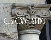 Custom Listing  RESERVED for Val