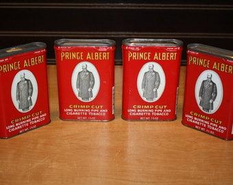 Prince Albert Tobacco Tins - set of 4 - item# 2848-8