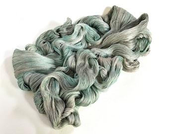 Silver Sea. Ameratsu Silk Cobweb Lace.