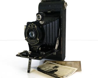 Vintage No 1A Pocket Kodak bellows camera