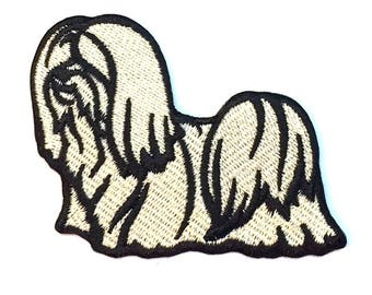Lhasa Apso Iron on Patch No Name