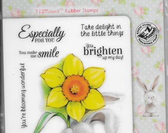 Bebunni stamp set -- Brighten My Day  -- NEW -- -- (#2379)  DISCONTINUED