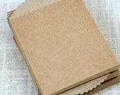 Kraft Mini Bags * set of 50 * 2 5/8 x 3 7/8 * mini kraft envelopes