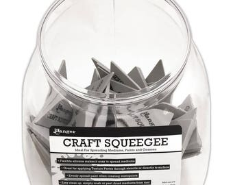 Ranger Craft Squeegee Bulk Buy 50 Pieces with Storage Cube