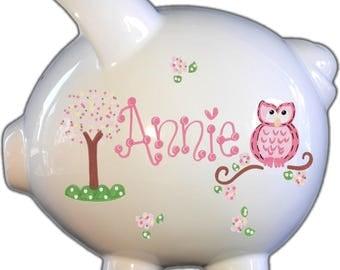 Custom Piggy Bank - Boy or Girl - Baby Gift | Personalized Piggy Bank