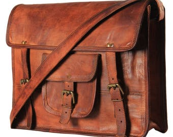 BOHEMIAN Genuine LEATHER Large TOTE Handmade Bag
