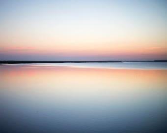 Georgia Sunrise II - Fine Art Photograph, ocean, atlantic, cumberland river, landscape, room decor, wall art, travel photography