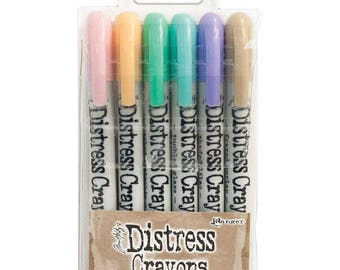 Distress Crayons- Set #5