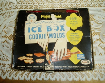 Frigee-Maid Ice Box Cookie Molds