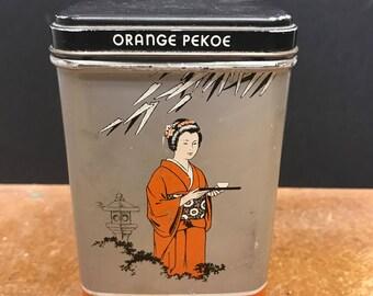 Vintage Richelieu Orange Pekoe Tea Tin