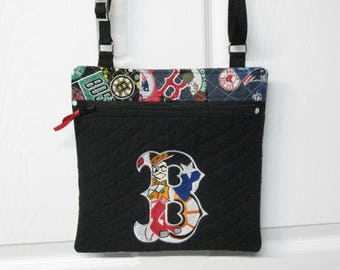 Boston Sports Cross Body Messenger Bag/Shoulder Bag / Tote Made And Ready To Ship