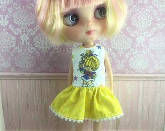 Blythe Drop Waist Dress - Rainbow Brite