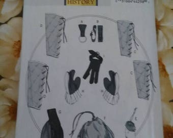 Sewing Pattern Butterick 5733 Adult one size, Pattern for Gloves
