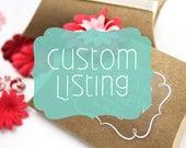 Custom Sticker Listing for Staci