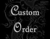 Reserved for Katharine Custom Fan Cushion