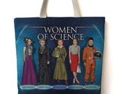 Famous Scientist Totebag
