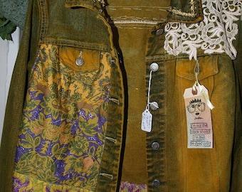 Wearable Art Jacket - size 12ish