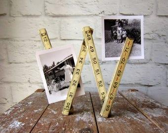 Vintage Folding Ruler- Stanley Two Way Ruler - Prop - Staging