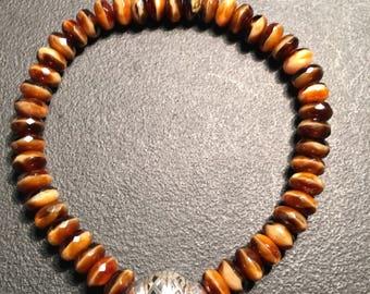 Men's Brown Multitone Bracelet