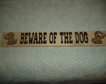 country sign, beware of the dog, dog sign, engraved signs, signs
