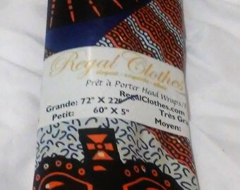 Sun and Crown Ankara Tribal Print Head Wrap Gift Idea Mom Women Turban Fashion  Holiday Fashion Scarf Mothers Day Gift For Mom
