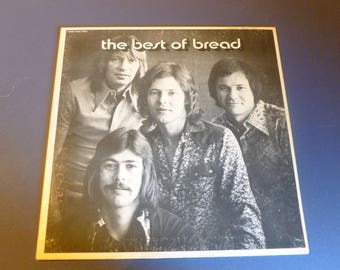 The Best Of Bread Vinyl Record LP EKS-75056 Electra Records 1973