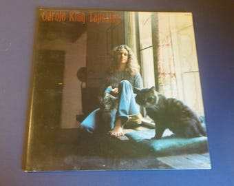 Carole King Tapestry Vinyl Record LP PE 34946 Epic ODE Records 1971