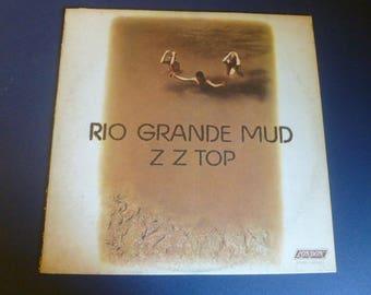 ZZ Top Rio Grande Mud Vinyl Record LP XPS 612 London Records 1972