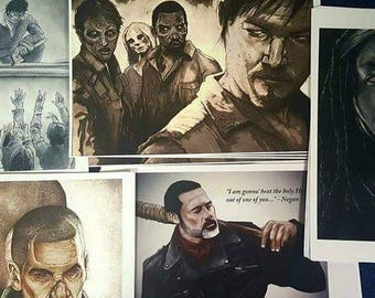 The Walking Dead Print Pack (5)