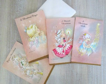 Eve Rockwell Christmas Angel Greeting Cards Set of 10