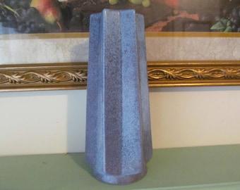 Redwing Pottery Vase 656 USA, Six Point Star Top, Vintage Pottery