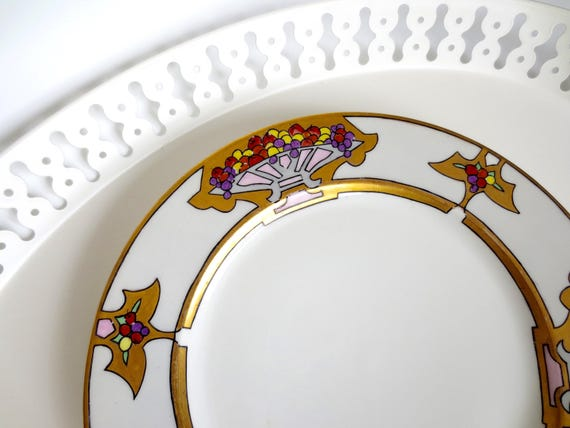Like this item? & Haviland France Art Deco Dinner Plate Decorative Plate for