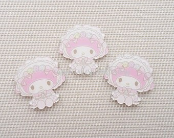 1pc - Kawaii Lolita My Melody Decoden Cabochon (45mm) MYM014