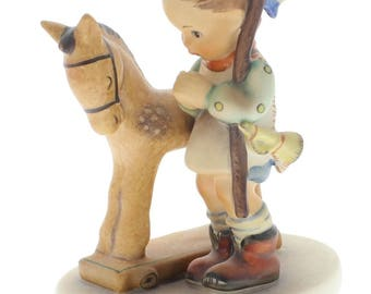 Goebel Hummel Figurine #20 Prayer before Battle Boy and his Little Horse TMK 5