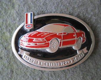 1993 Camaro Z28 Belt Buckle. Chevrolet, Chevy, Car, Automobile, General Motors. Free US Shipping.