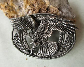 American Eagle Belt Buckle Bird Watcher Outdoors. Free US Shipping