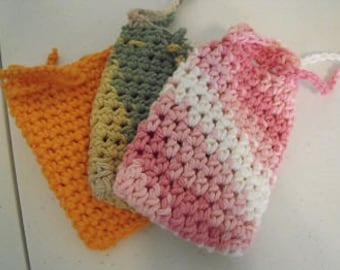 Set of 3 soap saver bags