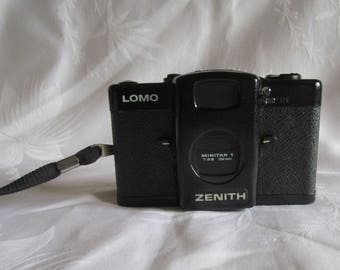 Vintage Lomo Zenith LC-A Minitar 1 35mm Russian Camera c1984 With Instructions
