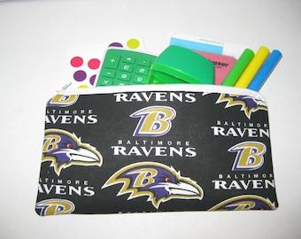 Baltimore Ravens Football Team Pencil Case