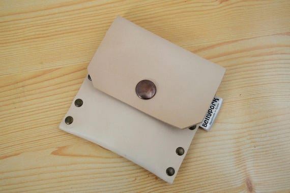 Mini coin purse,leather change purse,change purse leather,brown leather purse,mens coin purse,mini change purse,brown leather wallet