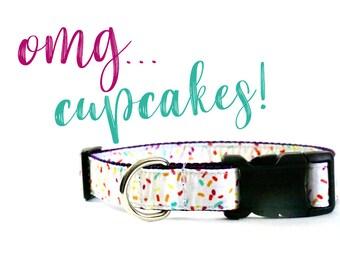 Dog Collar • OMG... cupcakes!