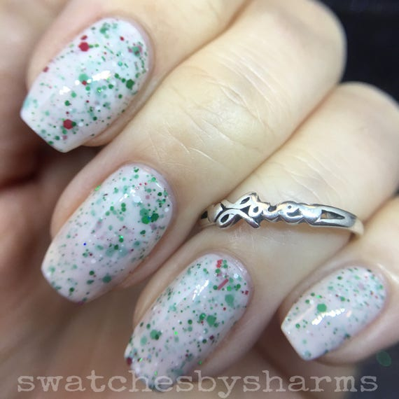 Cosmonaut Christmas holiday polish by Comet Vomit vegan